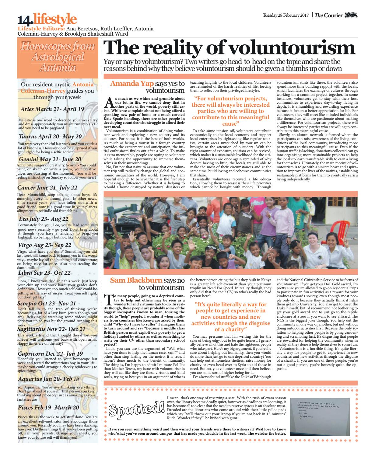 Courier 1346 by The Courier Online - issuu