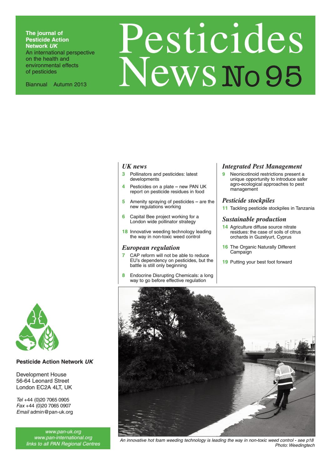 PAN UK - Pesticide News - Issue 95 by PAN UK - issuu