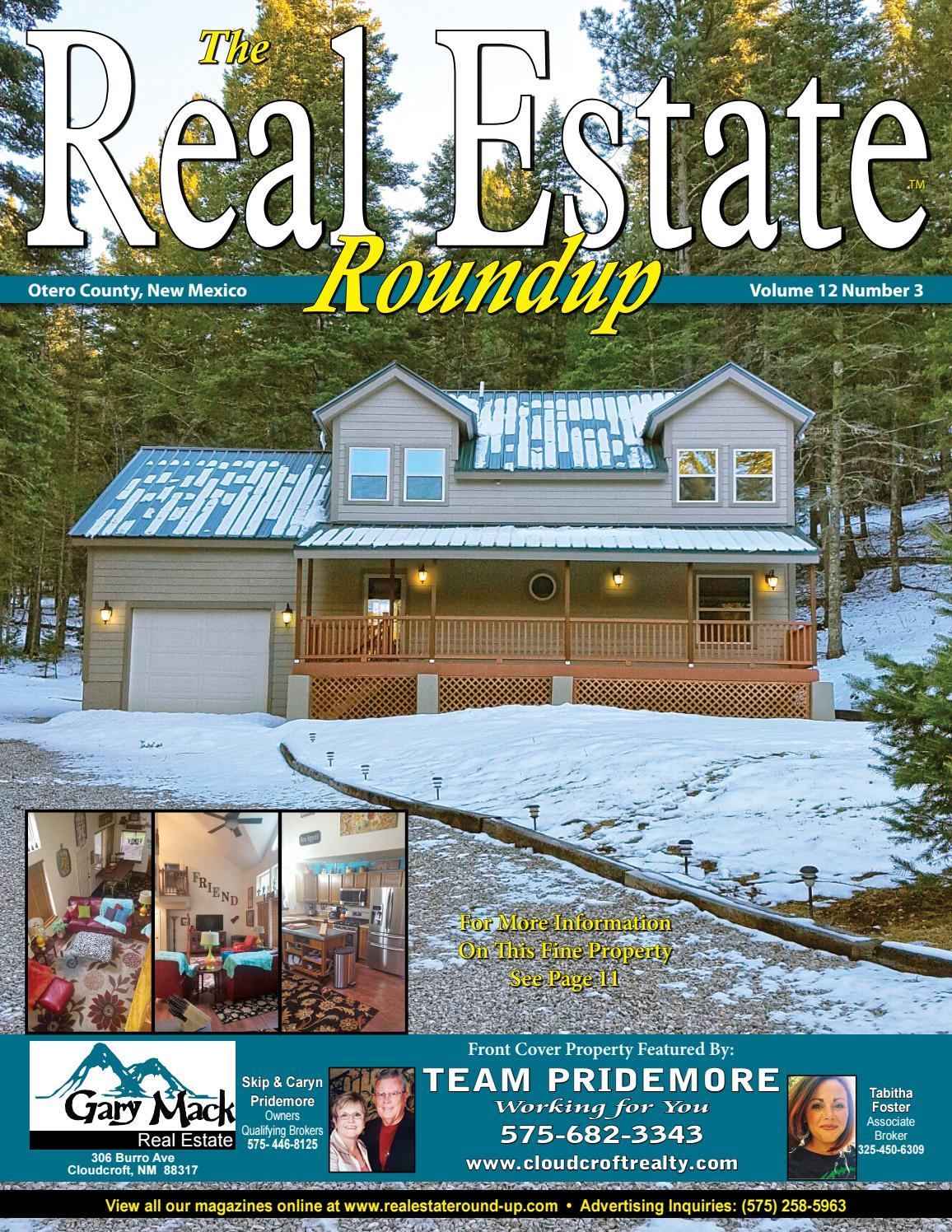 New mexico otero county cloudcroft - Alamogordo Real Estate Homes Land For Sale Cloudcroft Tularosa High Rolls Vol 12 No 3 By Helpful Publications Issuu