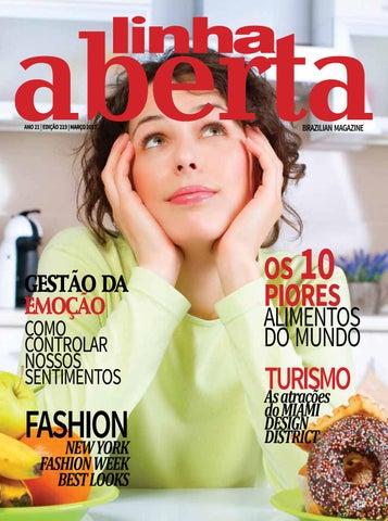 Linha Aberta Brazilian Magazine_March 2017 by Linha Aberta