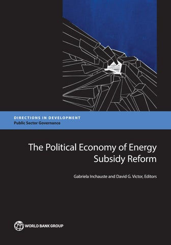 The Political Economy of Energy Subsidy Reform by World Bank ... e24b1020fe