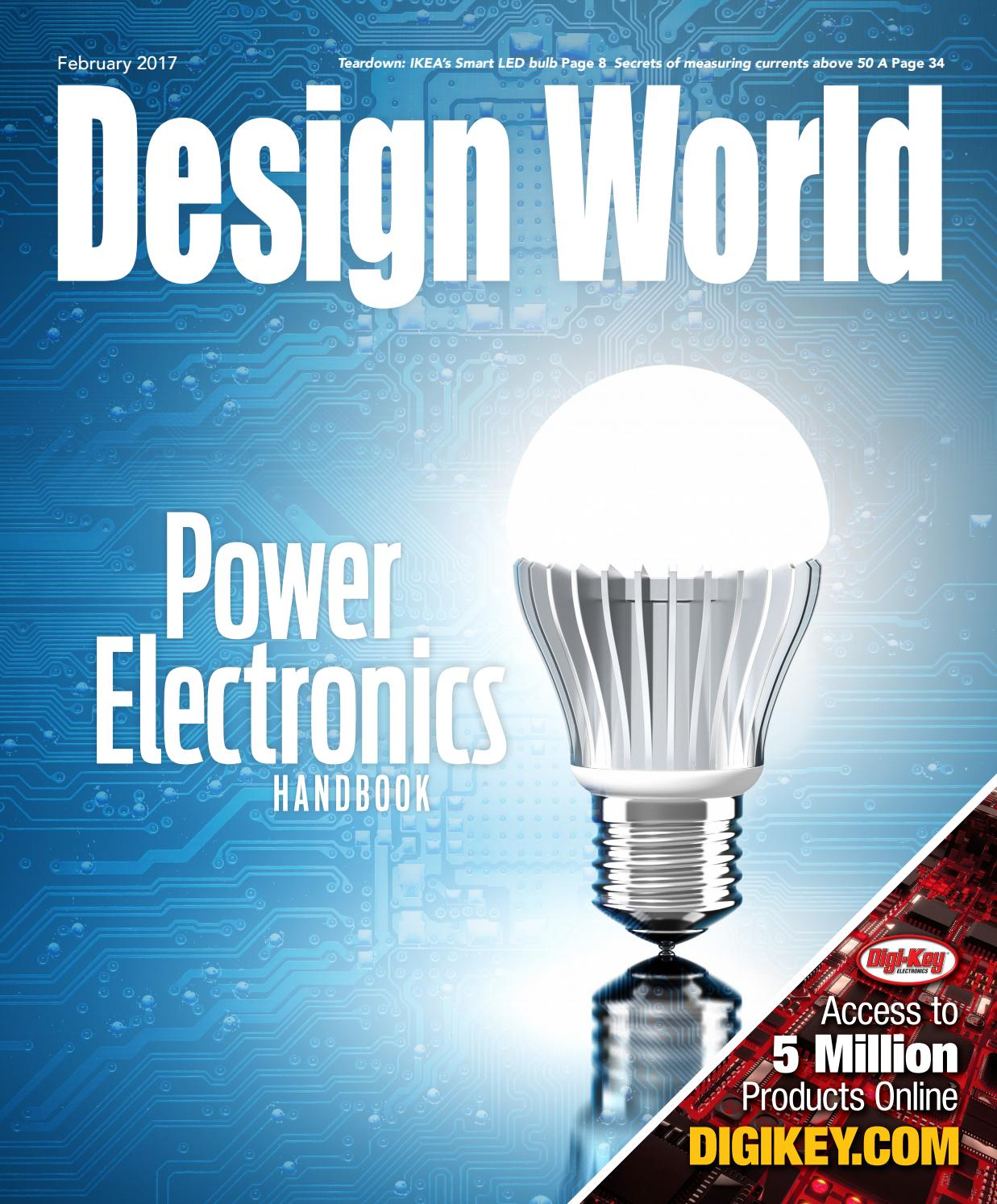 Power Electronics Handbook February 2017 By Wtwh Media Llc Issuu The Main Limitation In Circuit Simulation Digichip Is That You Can