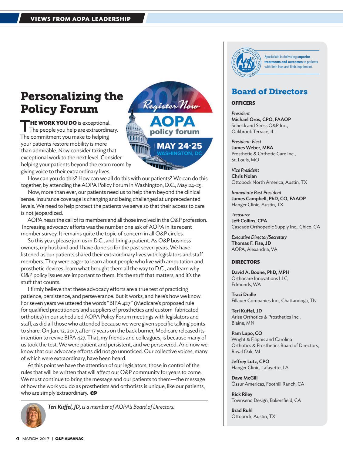 March 2017 O&P Almanac by AOPA - issuu