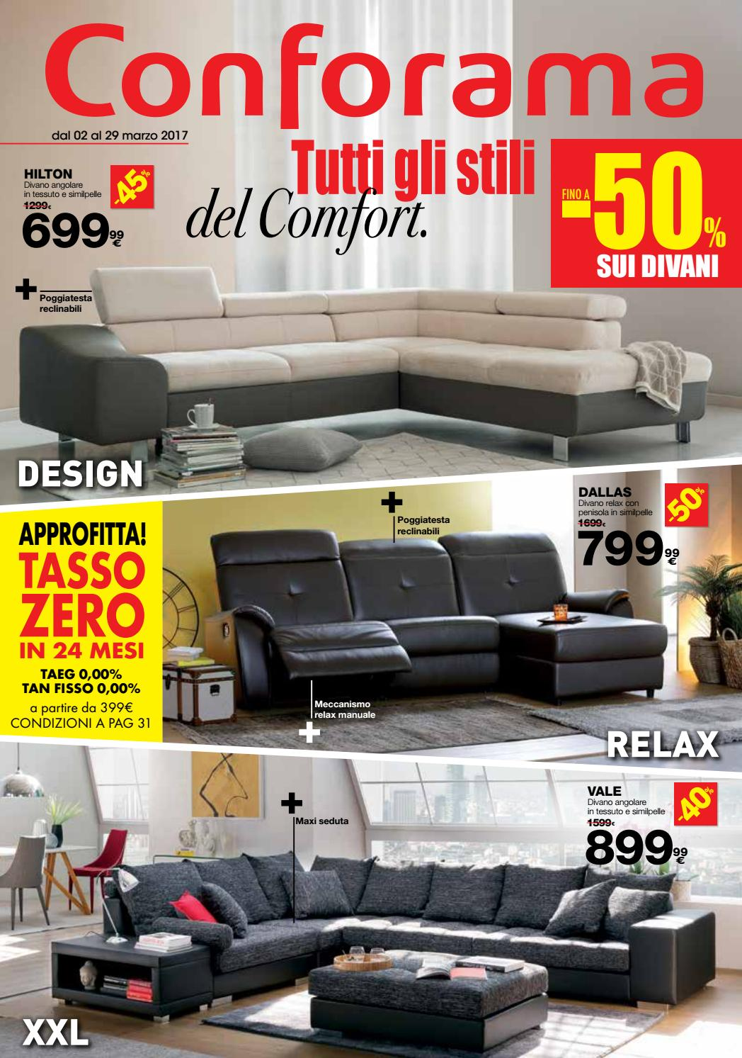 Divani Angolari Curvi.Conforama 29mar By Best Of Volantinoweb Issuu