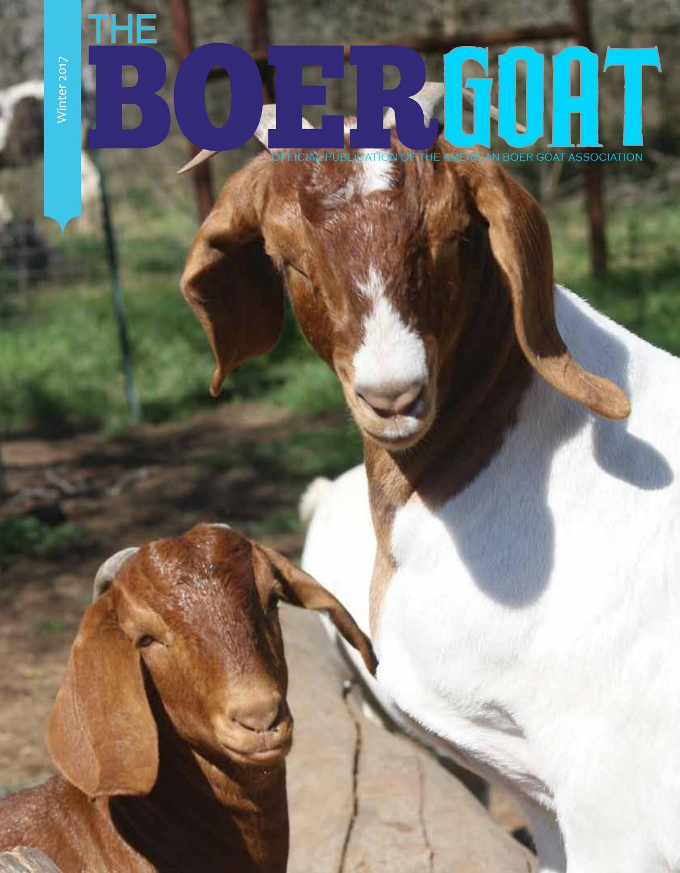 Winter17 by American Boer Goat Association - Issuu - photo#36