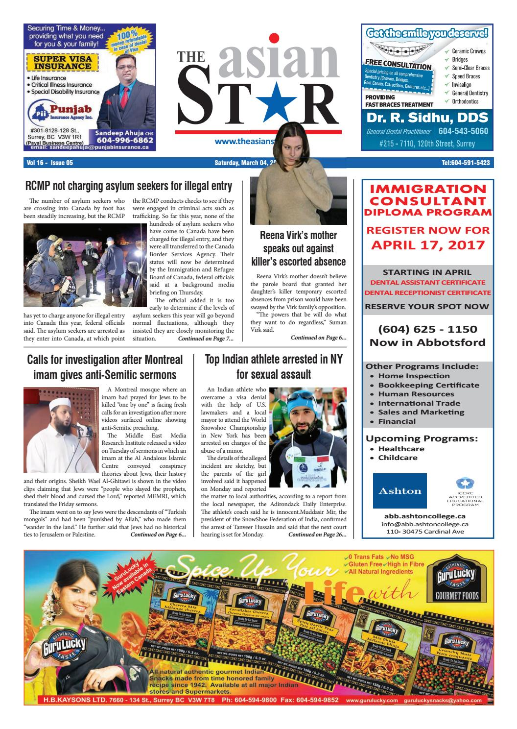 Asian Star - March 04, 2017 by The Asian Star Newspaper - issuu