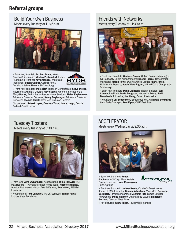 2017 Millard Business Association by Suburban Newspapers - issuu