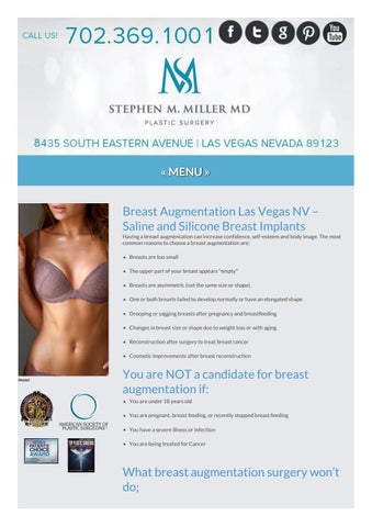 Breast Augmentation By John M Weeter M D Issuu