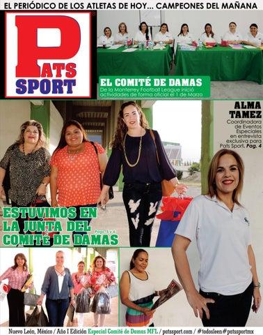 Pats Sport Edición Especial Comité de Damas - 03 de Marzo de 2017   patssportmx a66dcca6fdd99