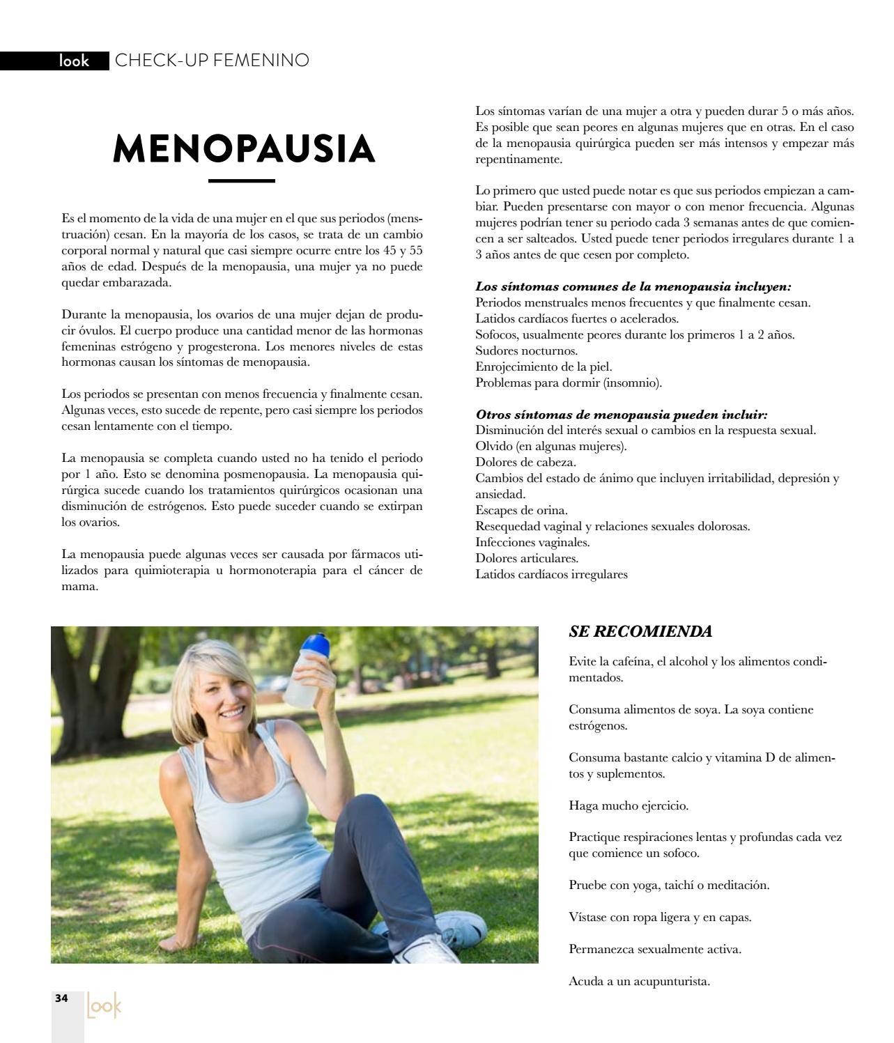 Mujer se puede quedar embarazada en la menopausia