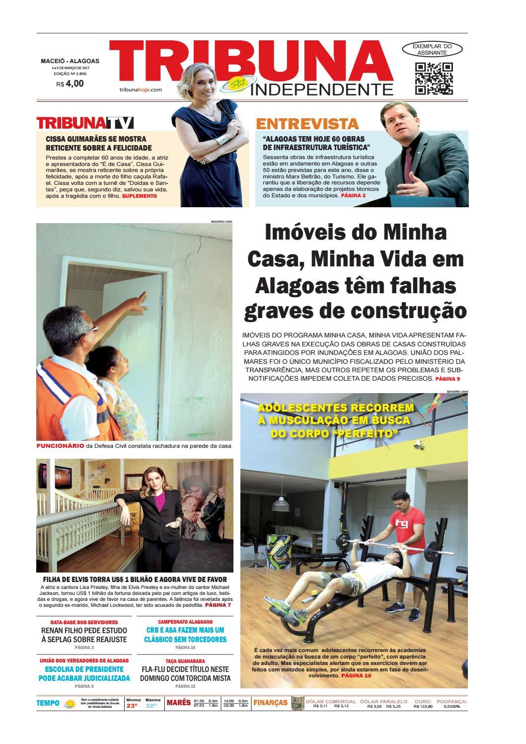 508eb35f72d Edição número 2850 - 4 e 5 de março de 2017 by Tribuna Hoje - issuu