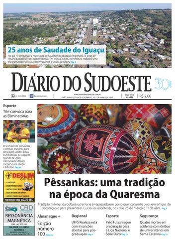 5243e7b20b3 Diário do sudoeste 4 e 5 de março de 2017 ed 6839 by Diário do ...