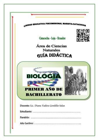 Guia de primero de bachillerato by Diana G - issuu