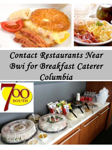 Page 1 Contact Restaurants Near Bwi