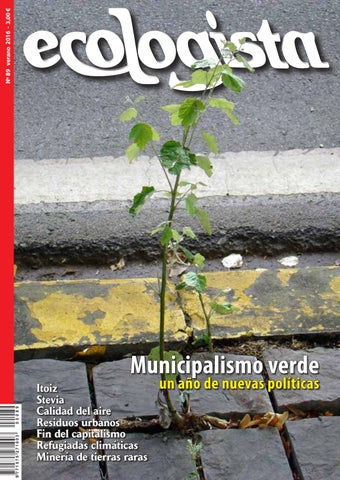 Ecologista Nº 89 By Revista El Ecologista Issuu