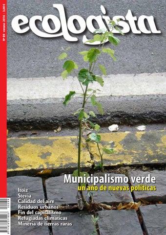 Ecologista Nº 89 By Revista El Ecologista Issuu