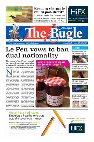 The Bugle Dordogne - Mar 2017 by The Bugle - issuu