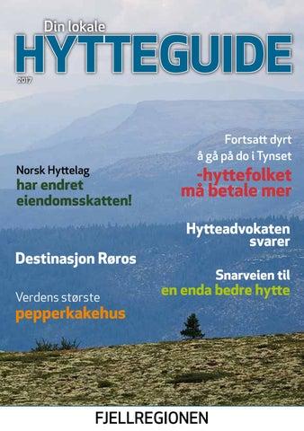 0dab43b8 Din lokale hytteguide for Fjellregionen 2017 by Norsk Hyttelag - issuu