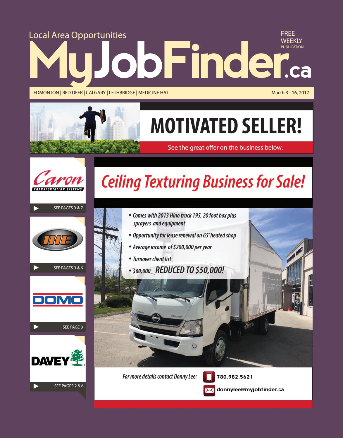 Myjobfinder march3 2017 print by MyJobFinder - issuu