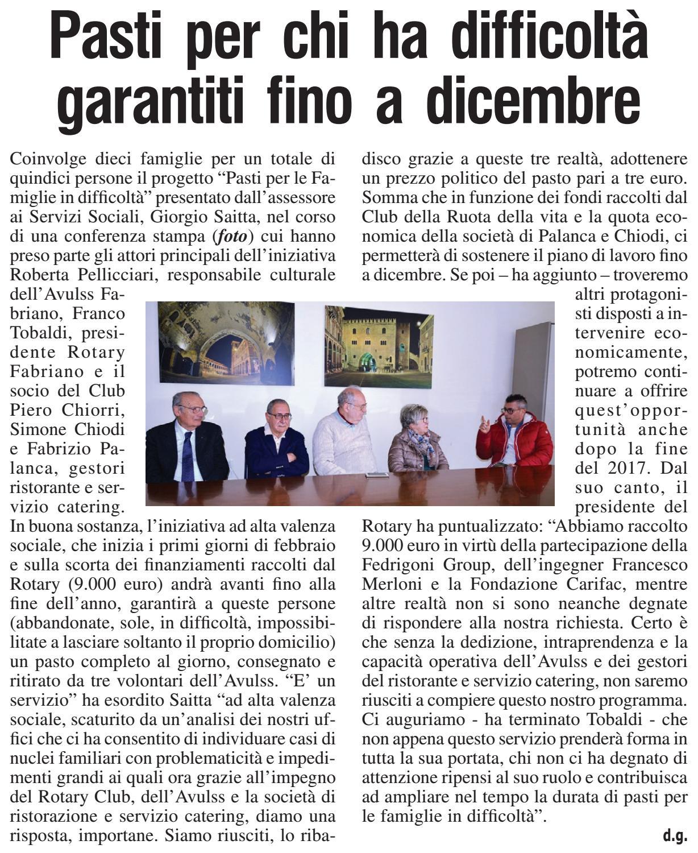 Rassegna Stampa Febbraio 2017 by Fondazione Carifac - issuu