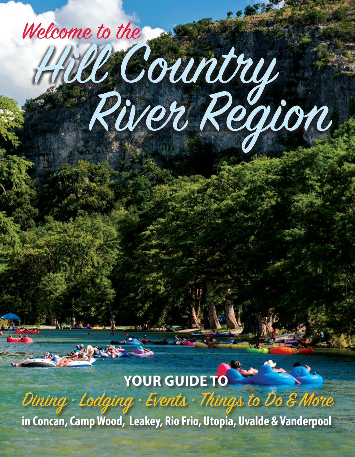 Texas Hill Country River Region Guide 2017 By Julie