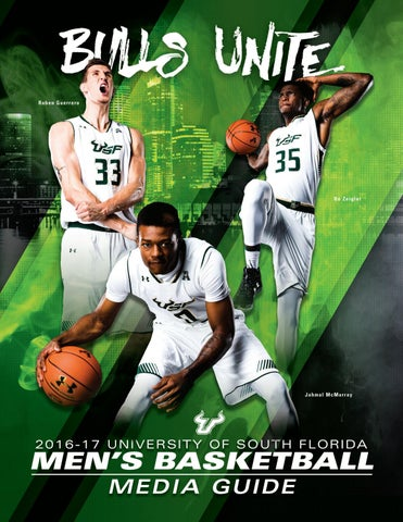 2016-17 USF Men s Basketball Media Guide by USF Bulls - issuu c719759f1