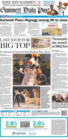 Gwinnett Daily Post March 5 2017 By Gwinnett Daily Post Issuu