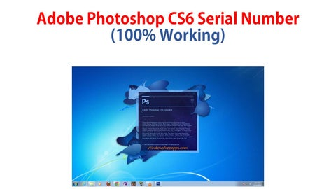 adobe photoshop cs6 extended 2012 full with serial key