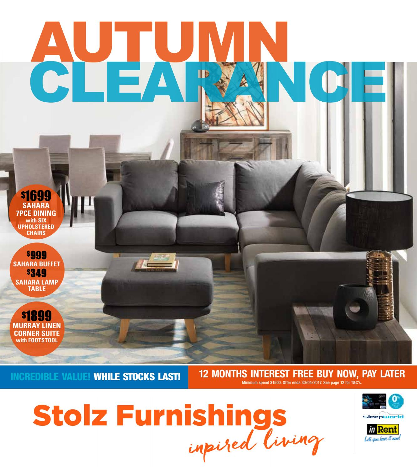 Stolz Autumn Clearance 2017 By Furnishers