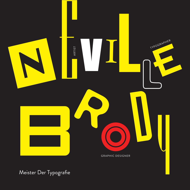 Neville Brody Booklet By Gabbysal