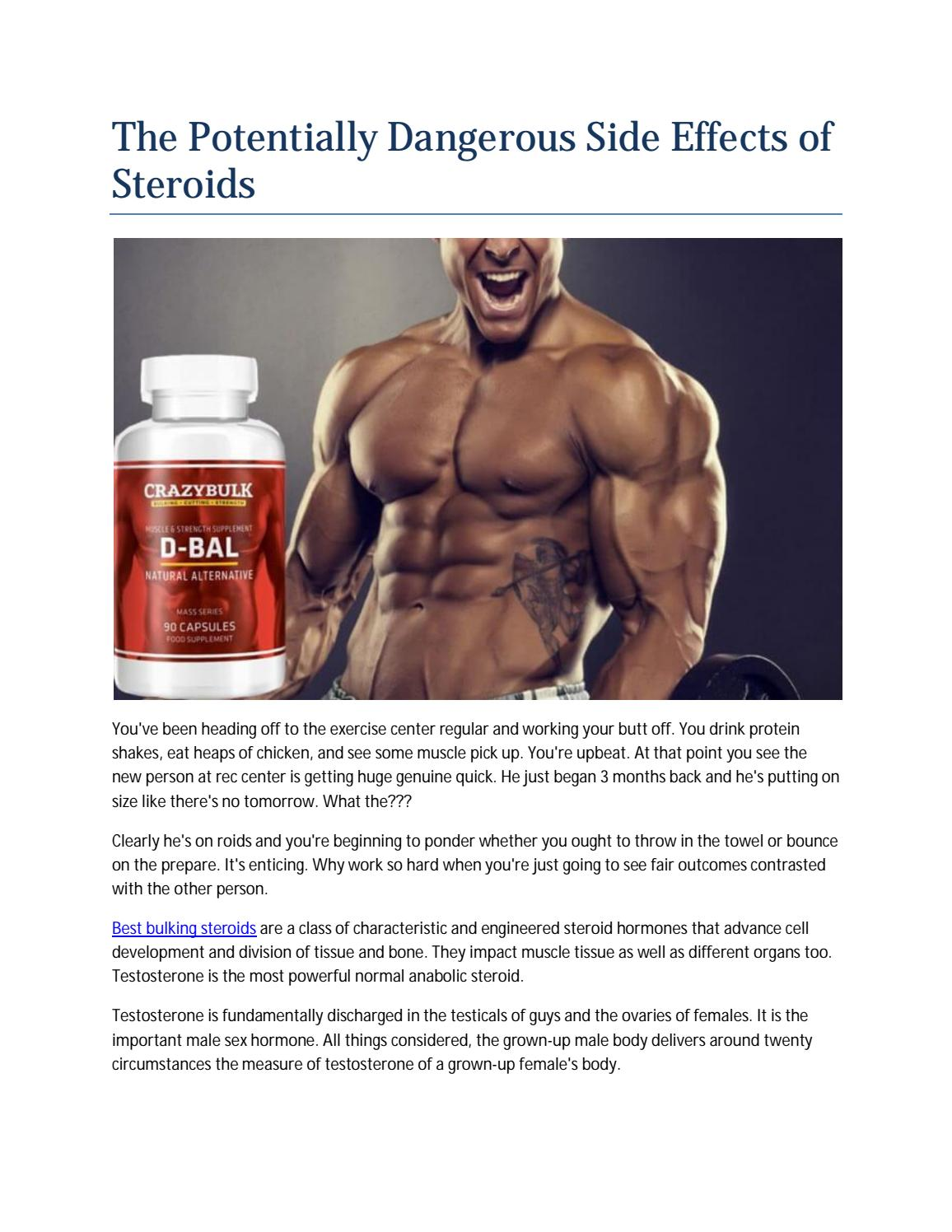 Steroids can be taken in pill shape or infused by Middleton - issuu
