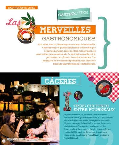 Estrmadure Gastronomique By Extremadura Turismo Issuu