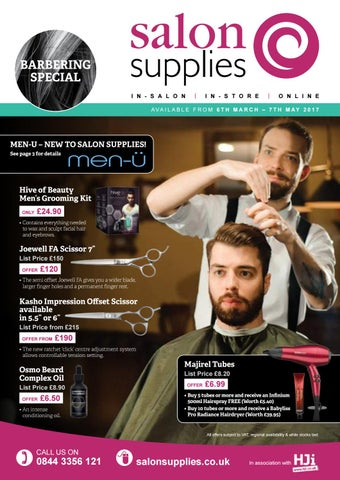March April 2017 Offer Brochure By Salon Supplies Issuu