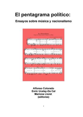 El Pentagrama PolAtico Ensayos Sobre MAssica Y Nacionalismo