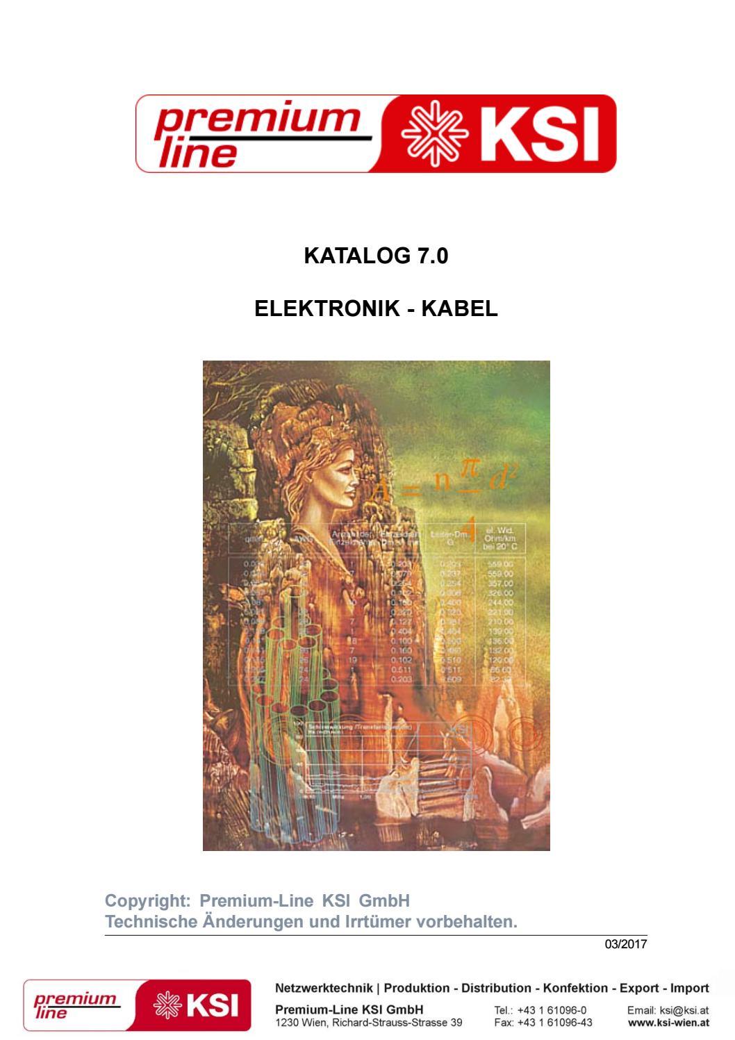 Elektronik - Kabel by Premium-Line KSI GmbH, Gerald Tranker - issuu