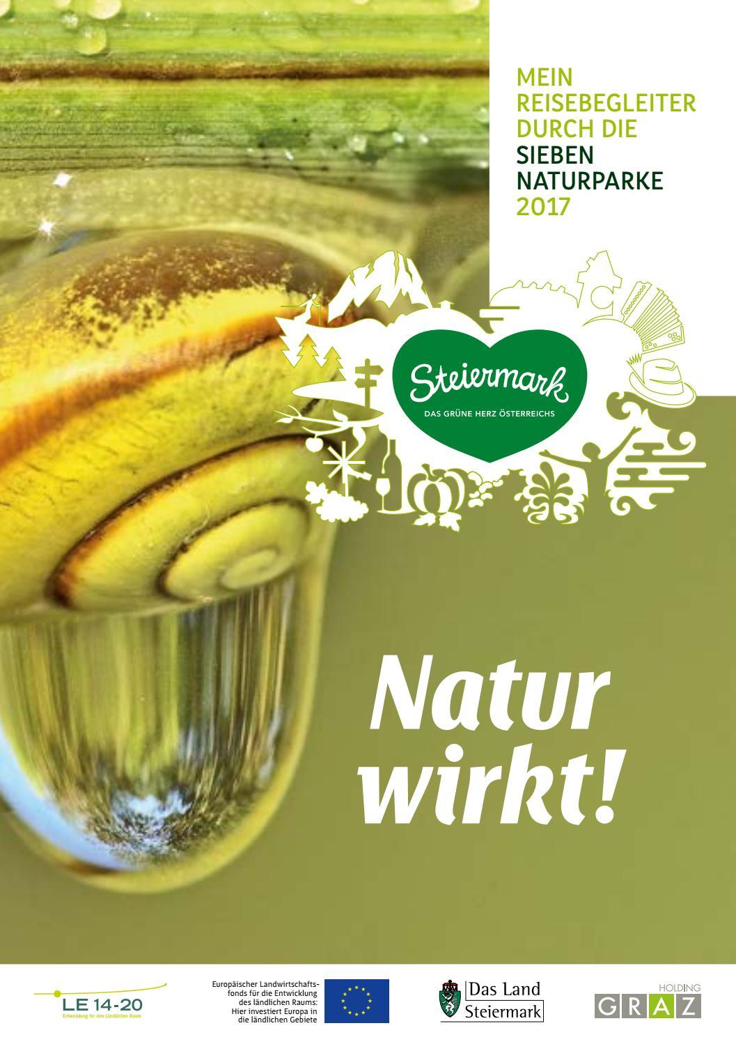 Natur wirkt! 2017 by Naturparke Steiermark - issuu