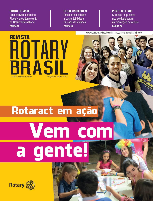 2e3717a4bdc31 Revista Rotary Brasil - Março de 2017 by Revista Rotary Brasil - issuu