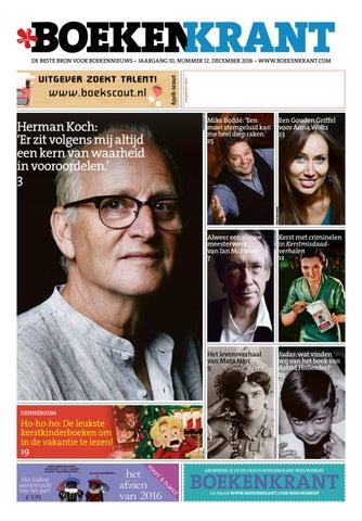5bef3841e4895f Boekenkrant december 2016 by Redactie Boekenkrant - issuu