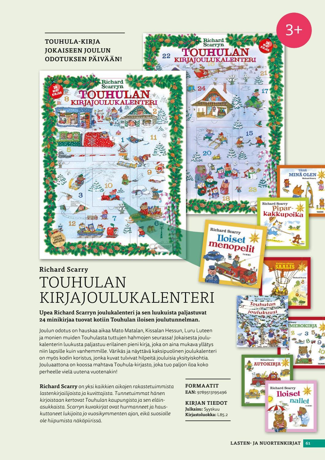 joulukalenteri 2018 kirja Tammi syksy 2017 by #kirja   issuu joulukalenteri 2018 kirja