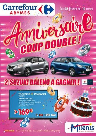 Carrefour Milenis Anniversaire Coup Double Du 28