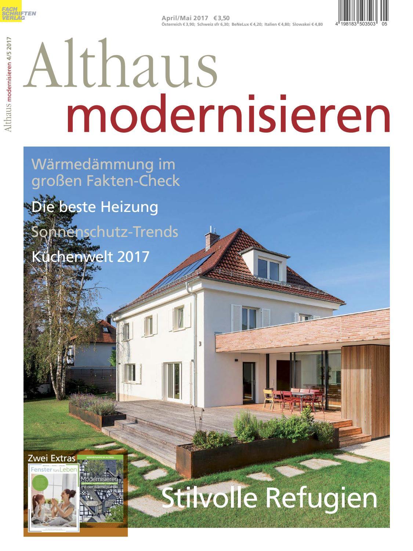 Althaus modernisieren 4/5-2017 by Fachschriften Verlag - issuu