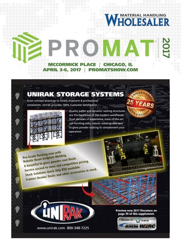 Material Handling Wholesaler Promat 2017 Supplement By