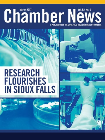 January 2017 Chamber News by Sioux Falls Area Chamber of Commerce