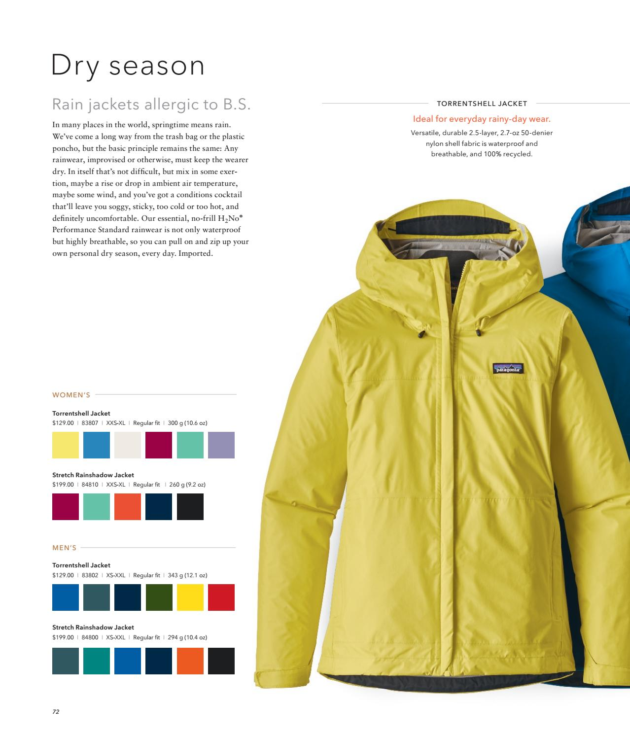 Patagonia torrentshell stretch jacket and pants review.