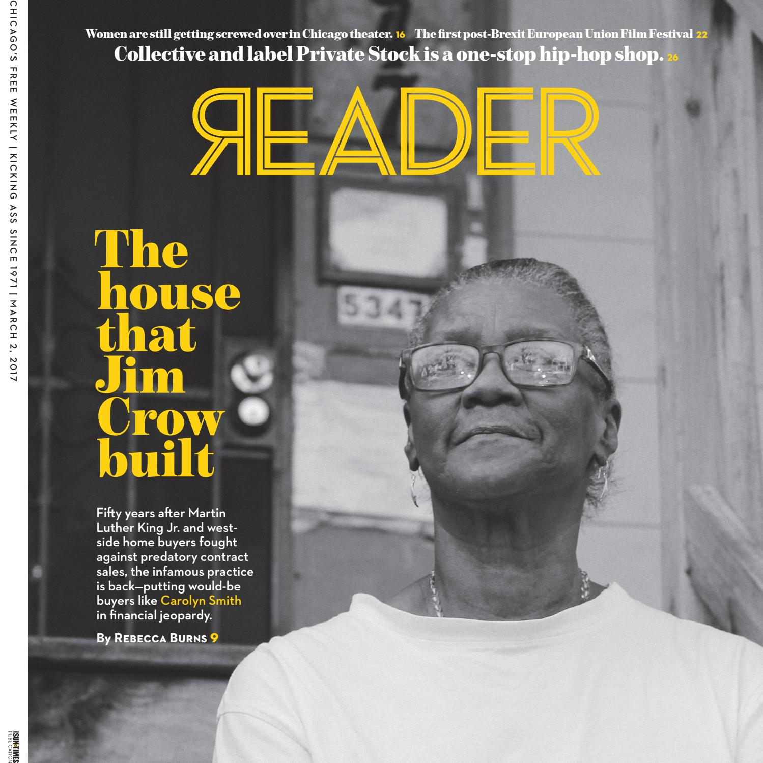 337be1dd Print Issue of March 2, 2017 (Volume 46, Number 21) by Chicago Reader -  issuu