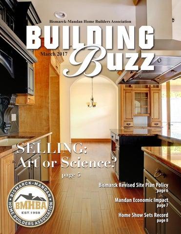 March 2017 Newsletter By Bismarck Mandan Home Builders