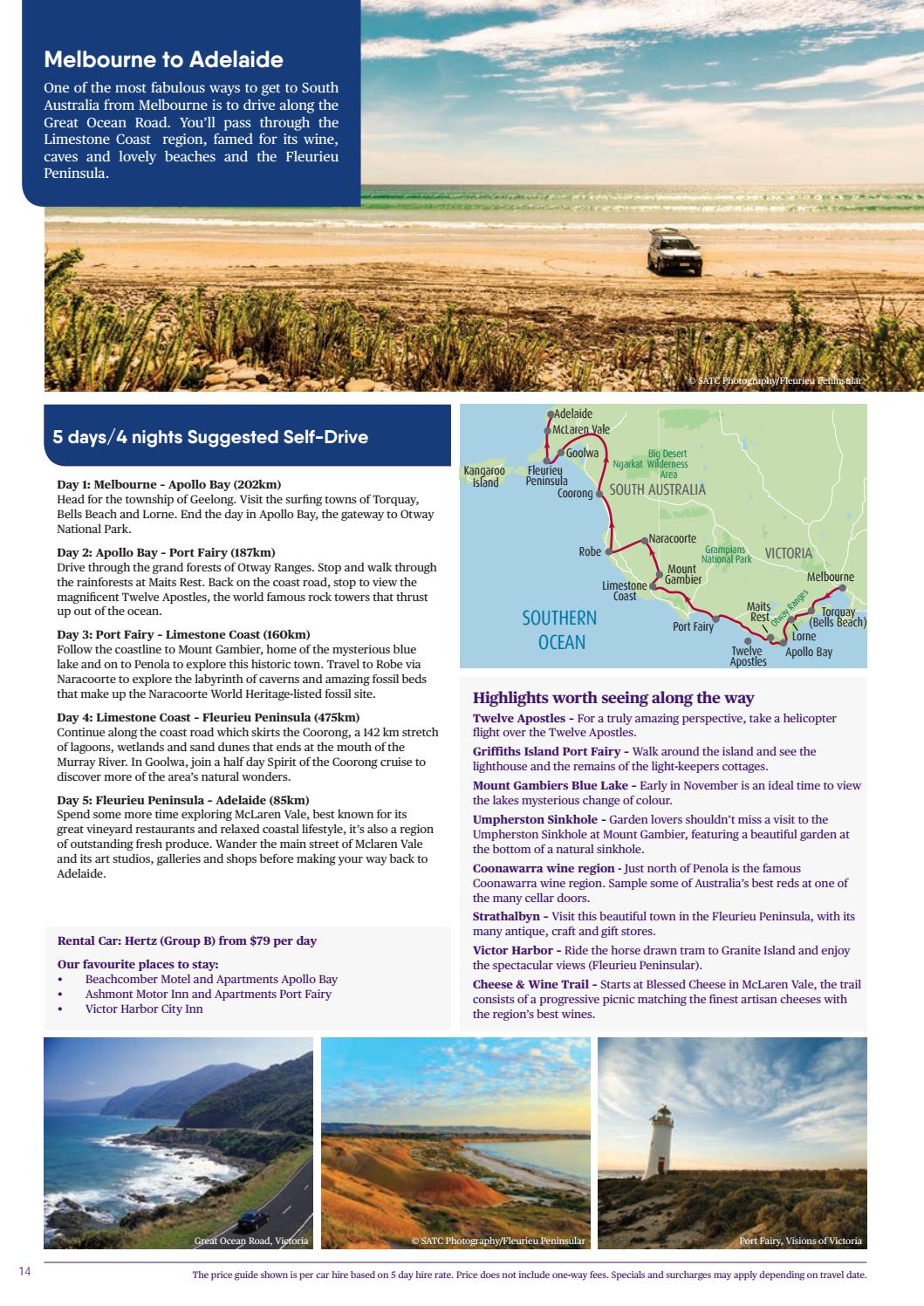 Rest Of Australia Brochure 2017 By House Of Travel Issuu