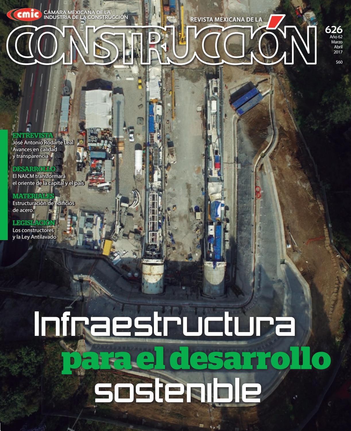 Revista Mexicana de la Construcción RMC 626 Marzo-Abril 2017 by ...