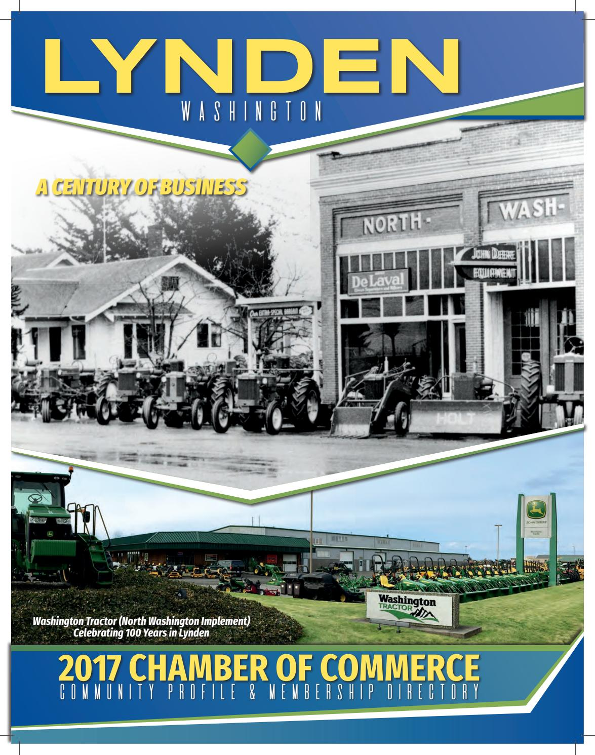 2017 lynden chamber of commerce directory by lynden for Chamber of commerce