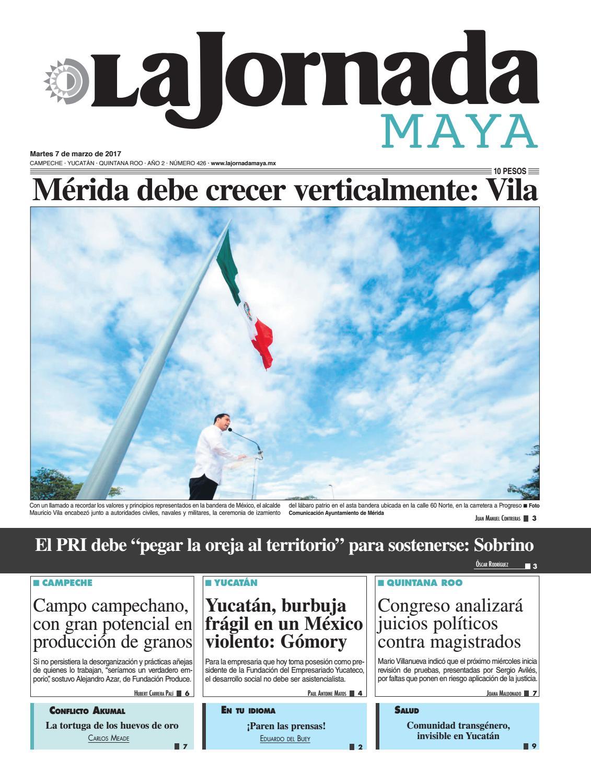 La Jornada Maya · Martes 7 de marzo 84d7b572579e